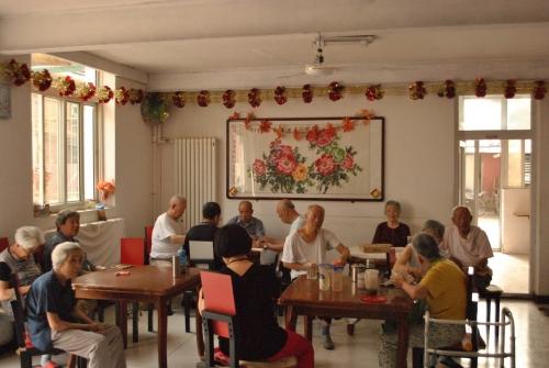南京市鼓楼区金康老年康复中心老人图片