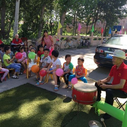 天津市宝坻区温馨养老院活动图片