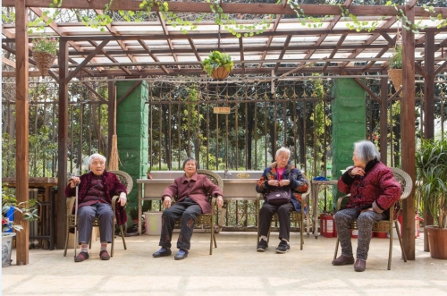 成都市锦江区暖巢人家照料护理中心老人图片