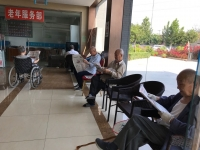 北京丰台区看丹老年公寓老人图片