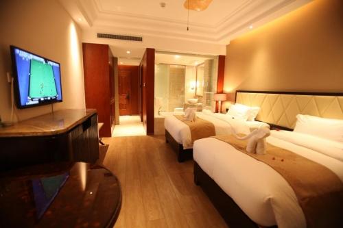 海南亚泰温泉酒店养生俱乐部房间图片