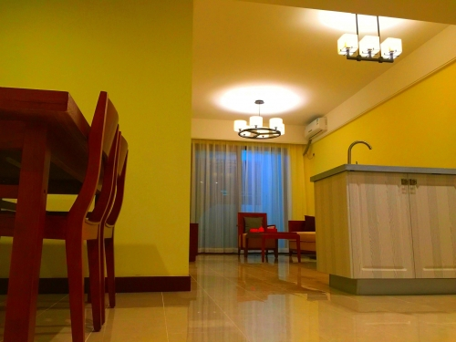 三亚海棠湾奥克玉成南田温泉高端养老公寓环境图片