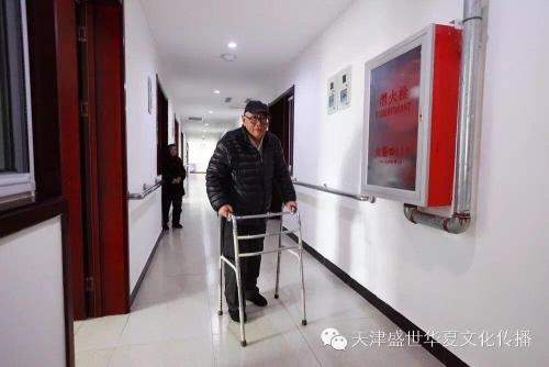 天津市宝坻区植乡居养老服务中心老人图片