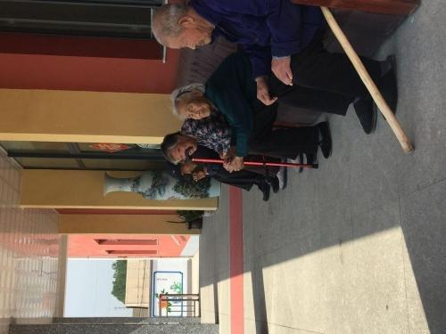 康尔乐养老服务中心老人图片