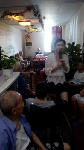 重庆静安养老院活动图片
