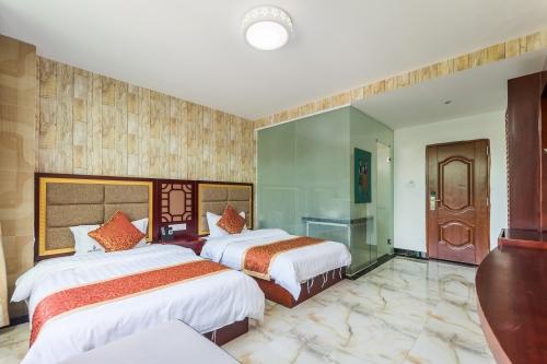 三亚槟榔河温泉酒店房间图片