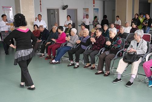 瑞海博老年康复中心老人图片