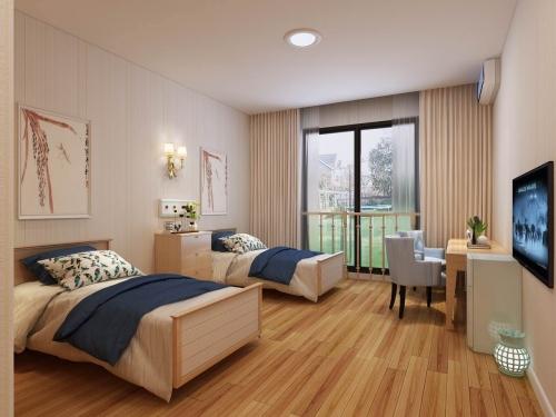 上海美源养老院房间图片
