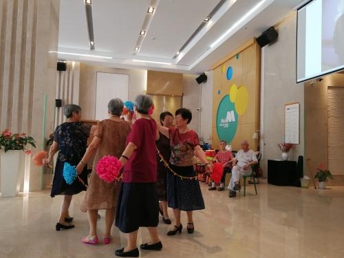 上海美源养老院活动图片