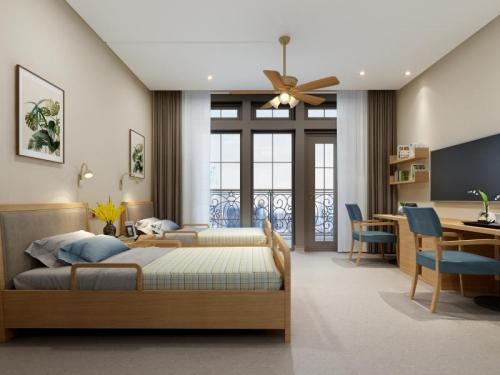 暖心窝颐养之家房间图片