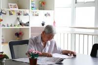 银城松椿颐养园老人图片