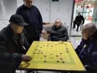 武漢市福澤灣養老院老人圖片