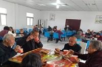 武漢新洲沐家涇社區利民養老院老人圖片